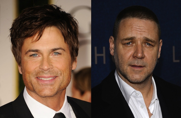 Rob Lowe and Russell Crowe are both 49.