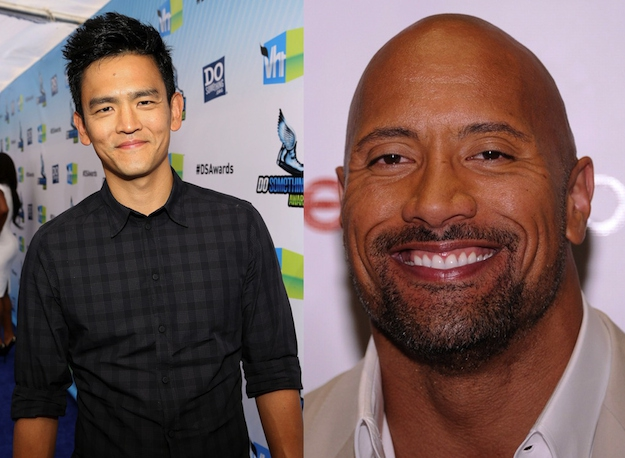 "John Cho and Dwayne ""The Rock"" Johnson are both 40."