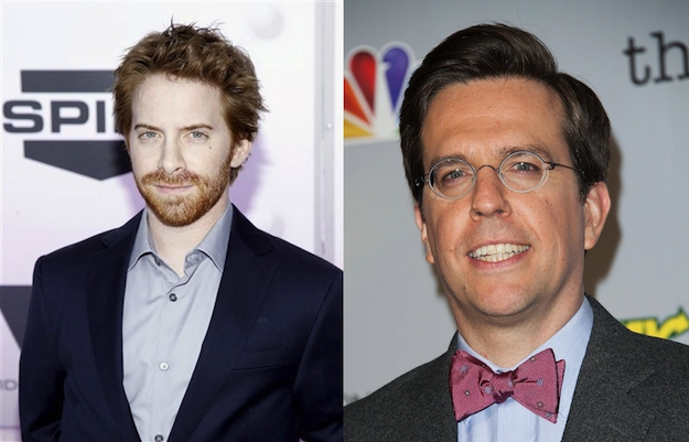 Seth Green and Ed Helms are both 39.