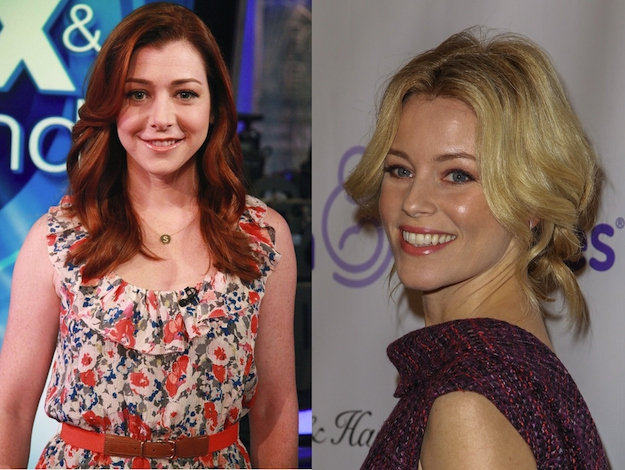 Alyson Hannigan and Elizabeth Banks are both 39.