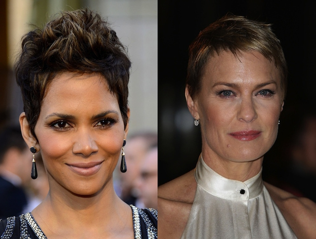 Halle Berry and Robin Wright are both 46.