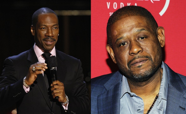 Eddie Murphy and Forest Whitaker are both 51.