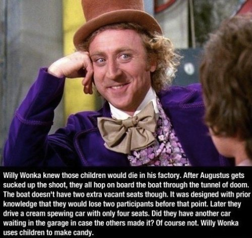 Willy Wonka Knew!