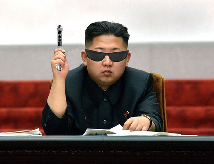 Kim Jong-Un Men In Black