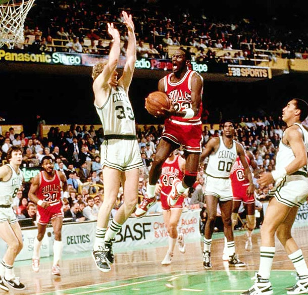 Michael Jordan Vs Larry Bird