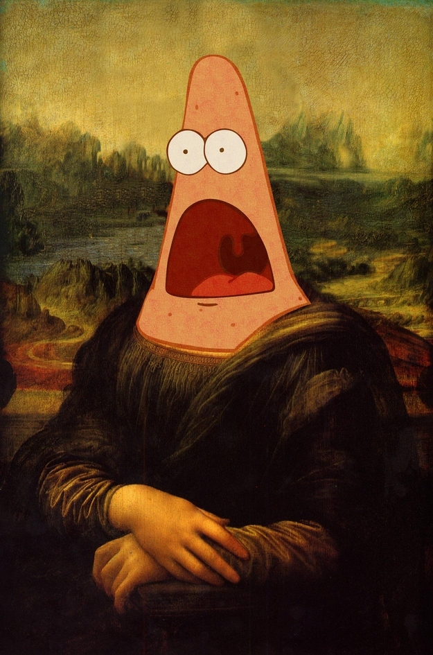 Surprised Patrick Art