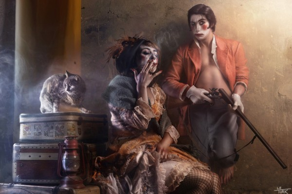 Damaged World Of Forgotten Circus Characters