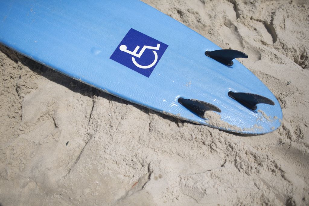 Handicap specific surf boards