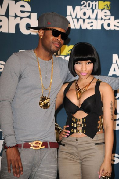 Nicki Minaj and Saferee Samuels
