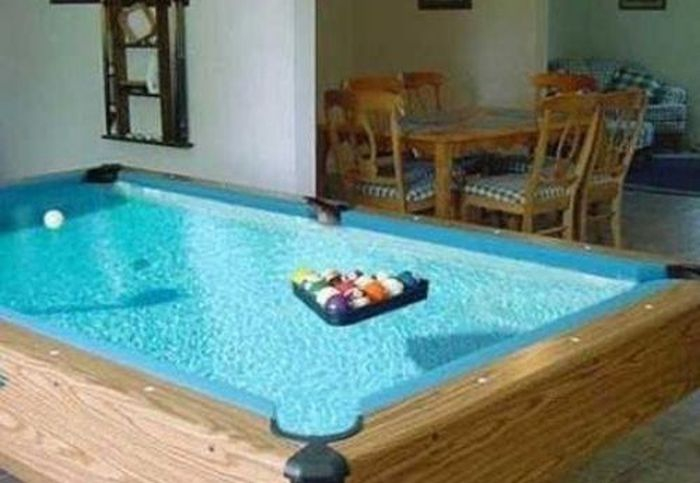 Water Pool Table