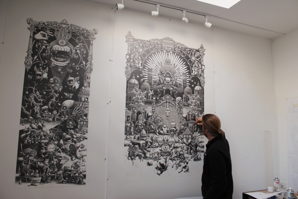 Incredibly Intricate Detailed Graphite Drawings by Joe Fenton
