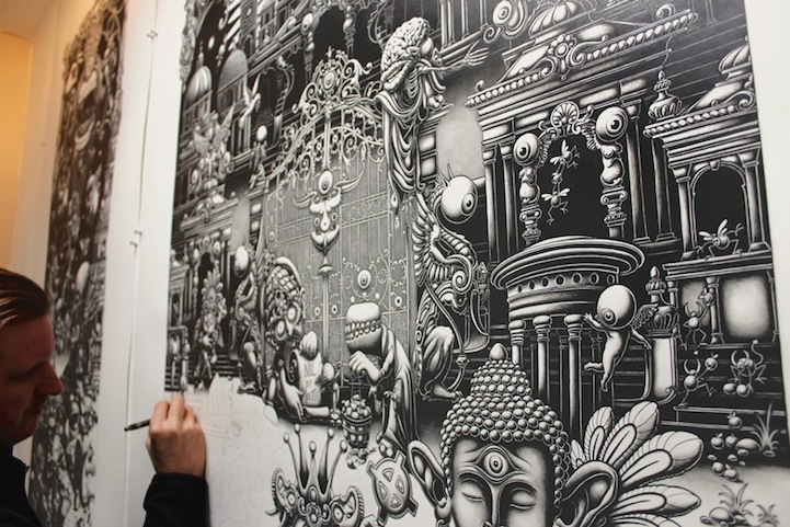 Detailed Large Drawings