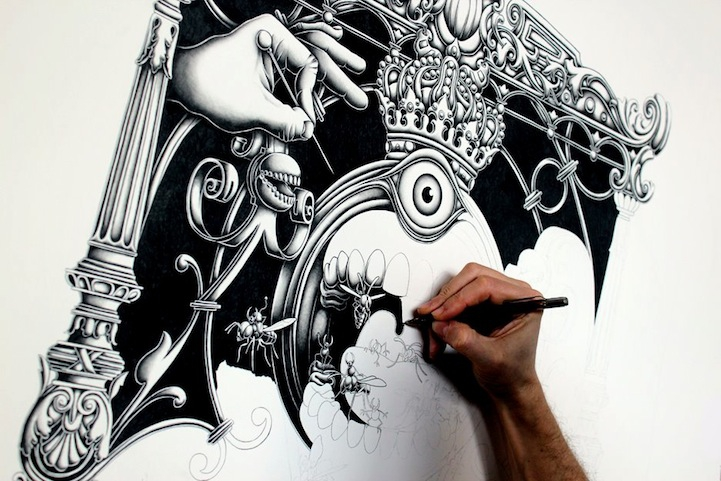 Intricate Drawings