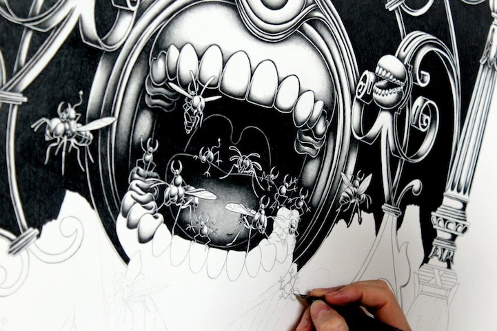 Amazing Detailed Drawings