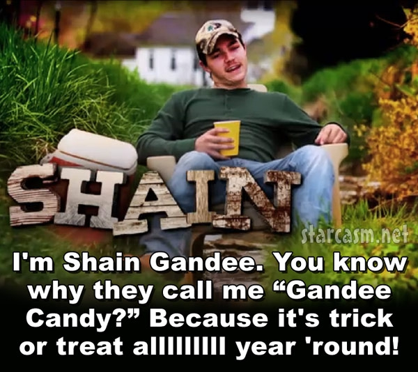 Maybe we'll see Shaine Gandee after it rains in a rainbow