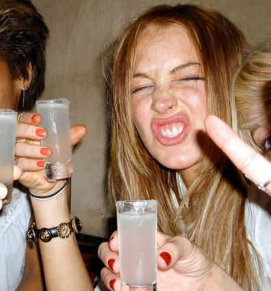 Lindsey Lohan loves a good time