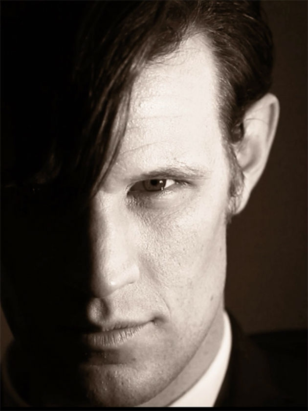 Close up Matt Smith