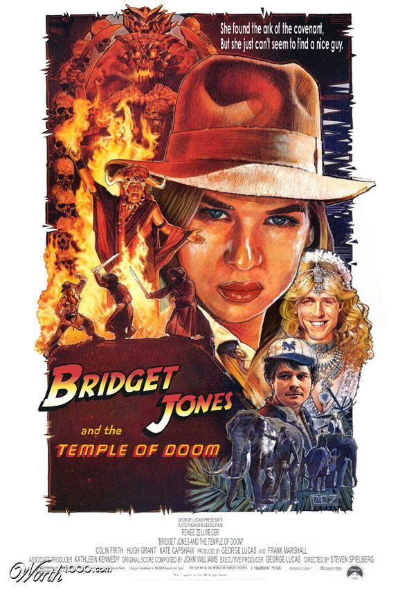 Bridget Jones and the Temple of Doom
