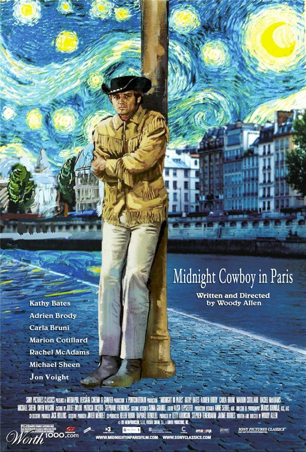 Midnight Cowboy In Paris