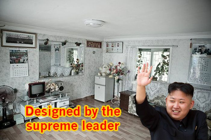 Designed By The Great Kim Jong Un
