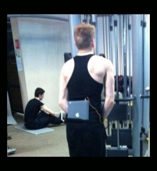 Ipad at the gym
