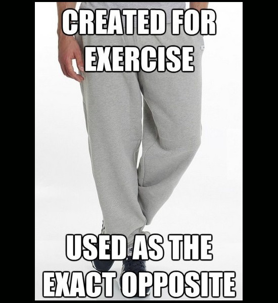 sweatpants meme