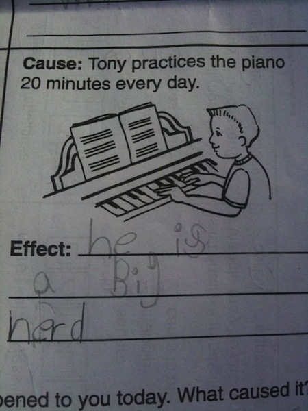 Nerds play piano