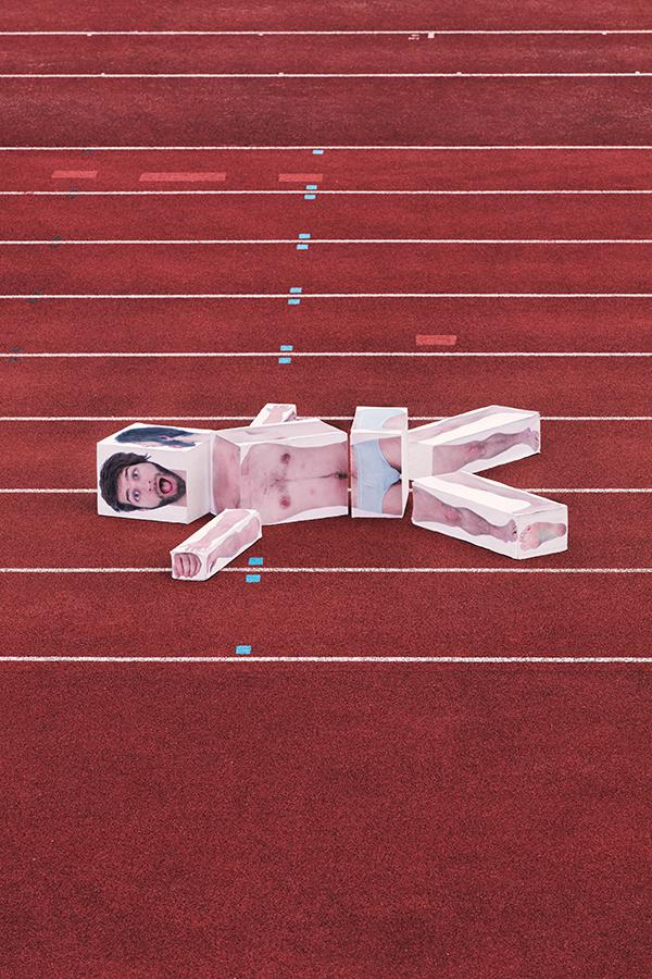 Laying On The Track