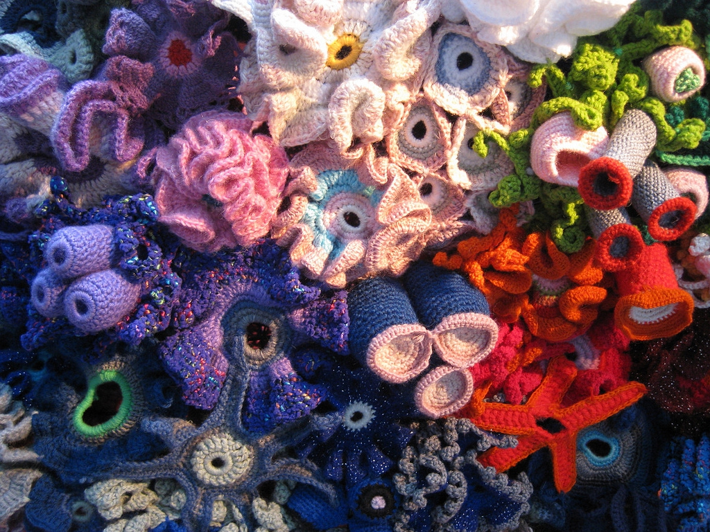 The Crochet Coral Reef Project