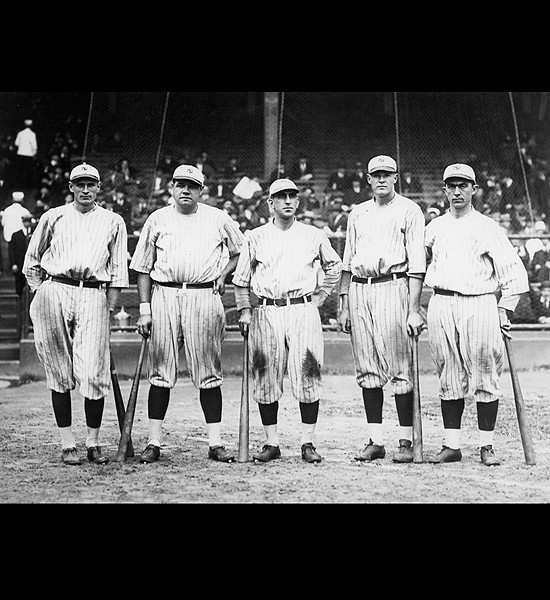"The Yankees Famed ""Murderer's Row """