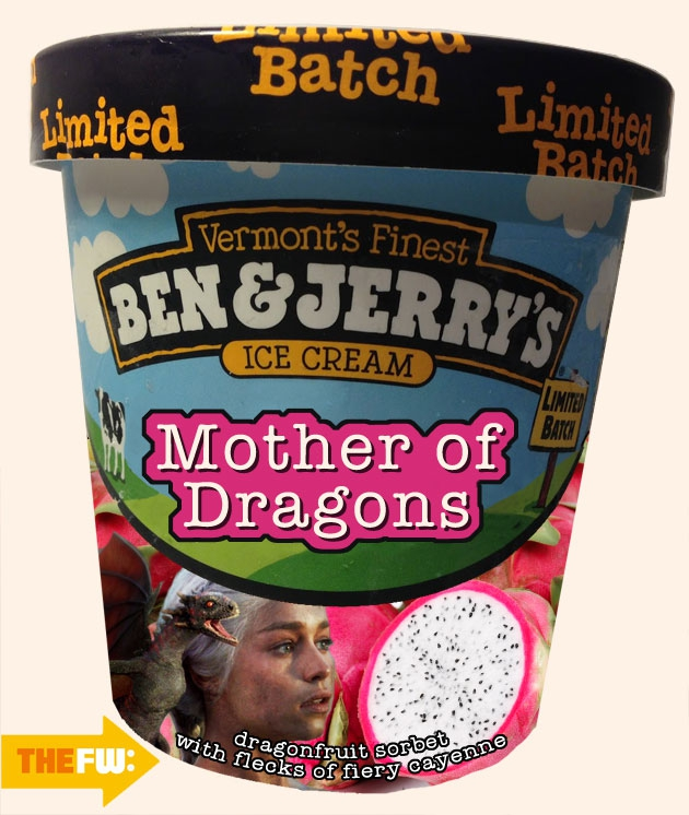 Game of Thrones Ben and Jerry's