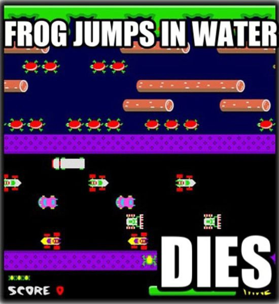 Frogger Problems