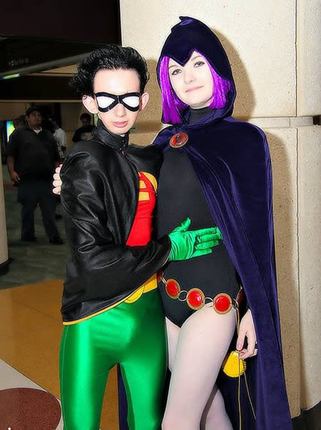 Robin and Bat Girl