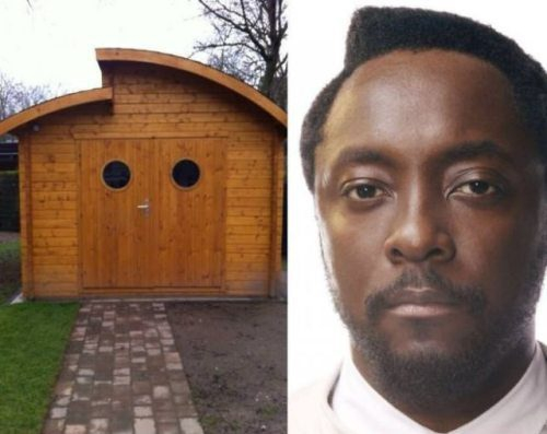 Will I Am house hair cut