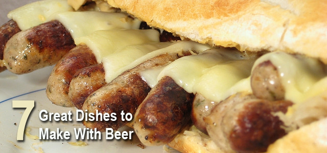 7 Delicious Dishes to make with beer
