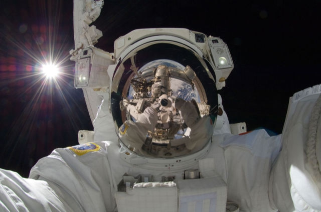 The space 'selfie'