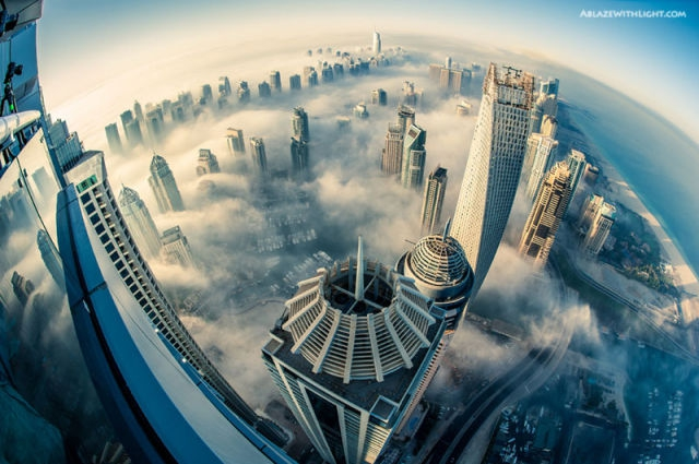Cloud city, Dubai