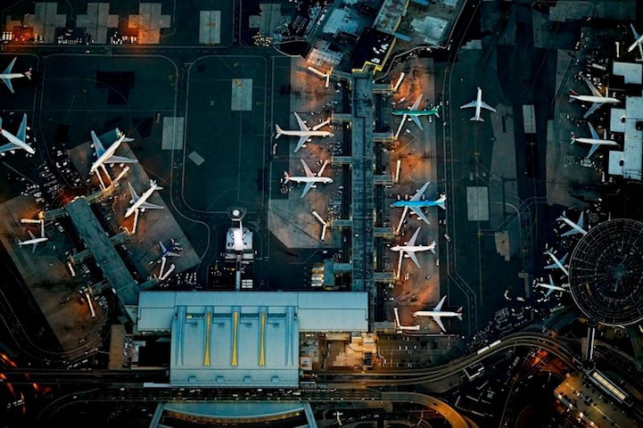 Spectacular Aerial Shots of International Airports