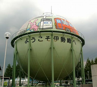 cool gas tank in Japan