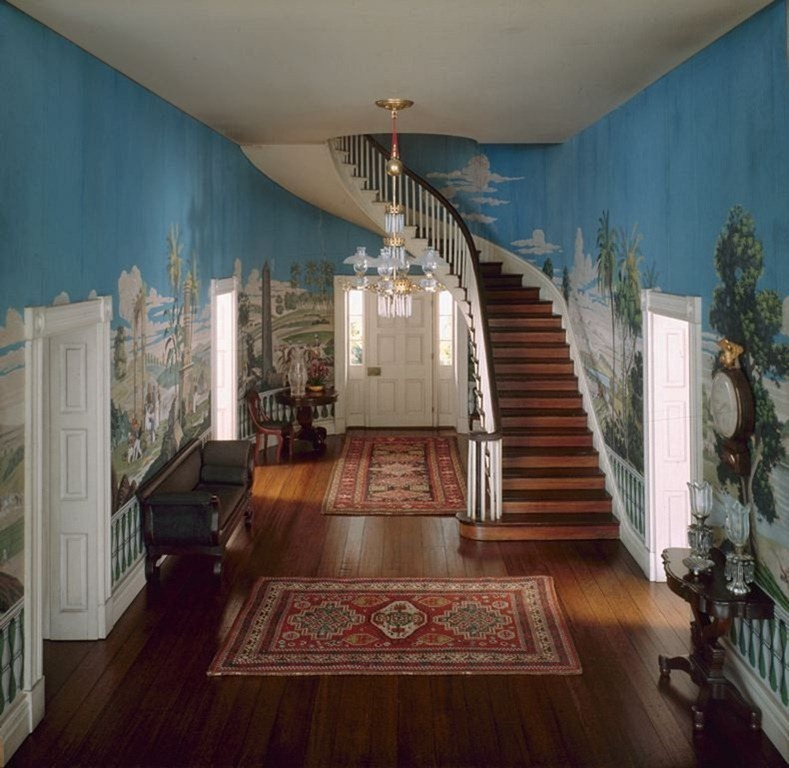 Tennessee Entrance Hall, 1835