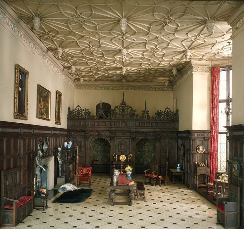 English Great Room of the Late Tudor Period, 1550-1603