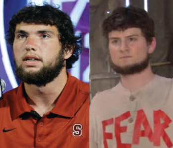 Andrew Luck and Mose Schrute