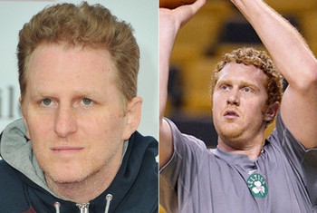Brian Scalabrine and Michael Rapaport