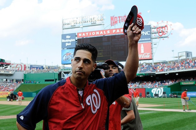 Gio Gonzalez Says Pitching Was Like 'Making Love To My Hand'