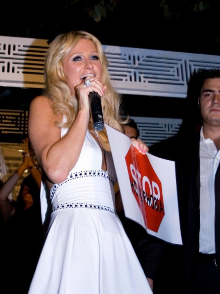 Paris Hilton Trying To Help Fight For Gay Rights