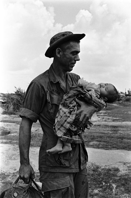 Charlie Haughey, Photos From Vietnam War