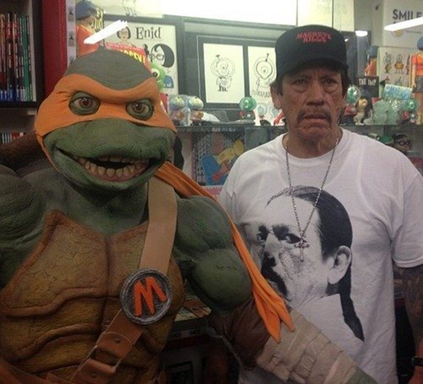 Danny Trejo and TMNT