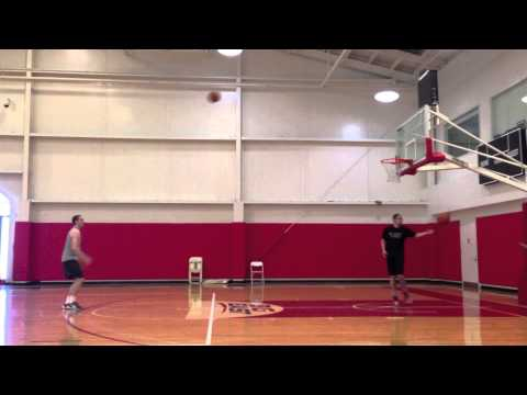 Max Hooper (St. John's) 3 Point Shooting Challenge (109 made in 5 minutes)