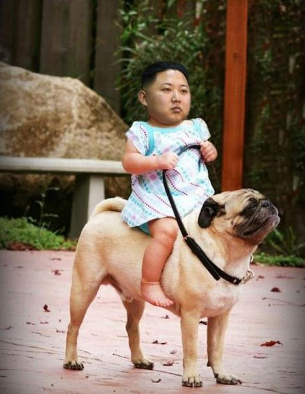 The Best Photoshopped Photos of Kim Jong-un