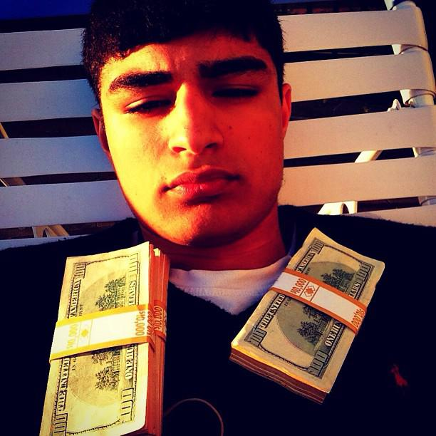 The Most Obnoxiously Spoiled Rich Kid on all of Instagram.